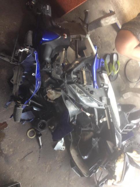 Lạc trôi với Exciter 135 sau tai nạn nghiêm trọng