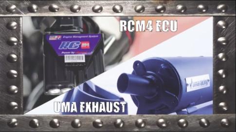 Y15zr test max speed tren po Uma Racing , ECU M4