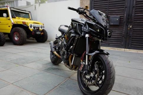 Yamaha MT-10 trong ban do cuc chat cua mot biker noi tieng Sai Thanh