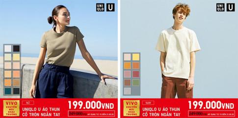"Shopping khong lo ""dau vi"" voi loat item duoc ""sale"" manh dip khai truong Uniqlo SC Vivocity ngay 15/5 toi"