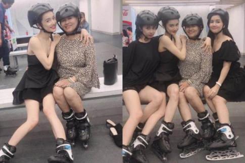 """""""Cuong"""" khoe body sau sinh no, Nha Phuong bat ngo nhan phan ung trai chieu vi... qua gay"""