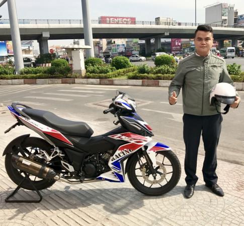 Honda Winner 150 do mang cay po an tuong