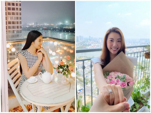 "Khong o ""cung dien"" dat vang nha chong, Tang Thanh Ha khoe tron ven biet thu trang tinh"