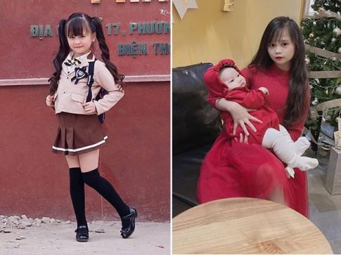 "Me 2 con Diep Lam Anh bi nghi ""dao keo"", khuon mat bup be cua dua tre noi su that"