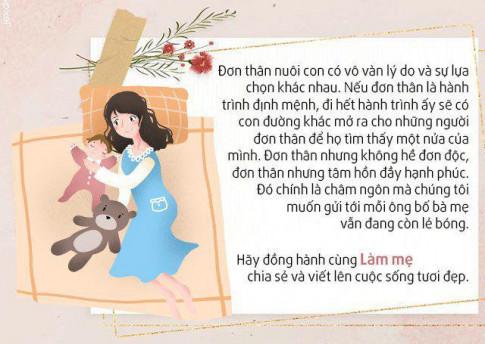 Me don than sinh non con nho xiu, gio 4 tuoi doi dap hon nguoi, noi tieng khap Viet Nam