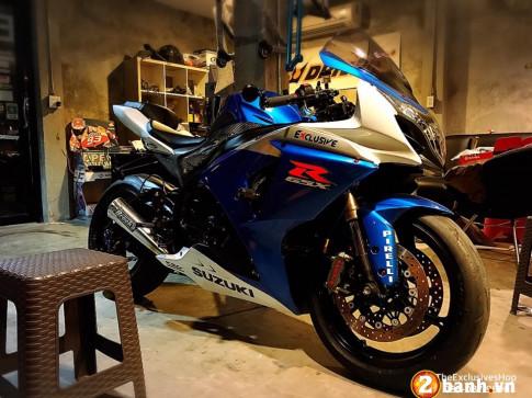 Suzuki GSX-R1000 sieu chat trong ban do day do hieu tai Thai Lan