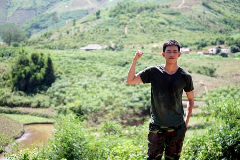 Tim ban cung tham gia di phuot Dak Lak- phim truong Su menh trai tim
