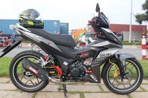 Bo anh Winner 150 kieng nhe day ca tinh cua biker Binh Duong