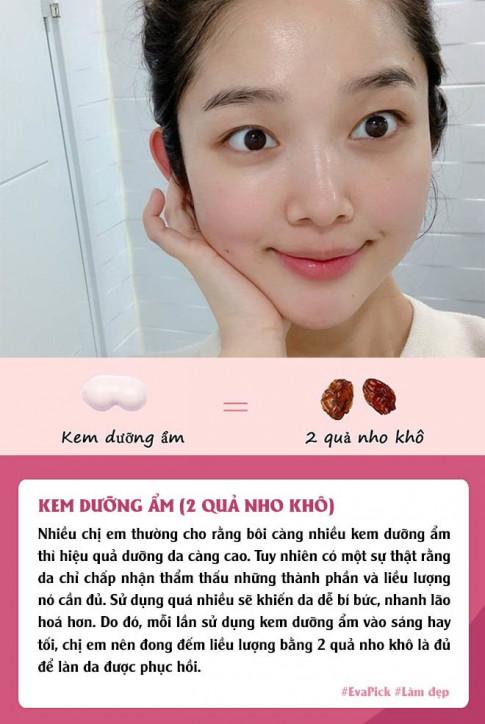Boi tret 6 loai my pham cham da hang ngay, nang da biet lieu luong the nao moi du chua?