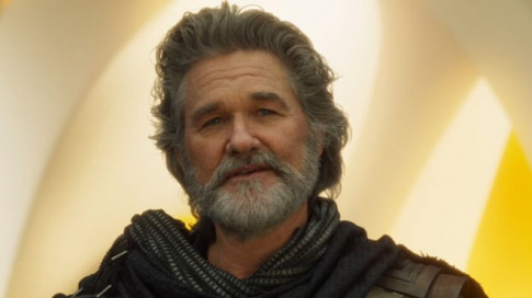 Cha cua Star-Lord trong 'Ve binh dai Ngan ha 2' lo dien