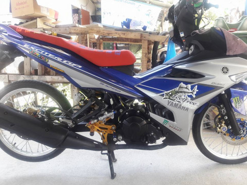 Exciter 150 ban do banh sieu nho dam chat Made in Thailand