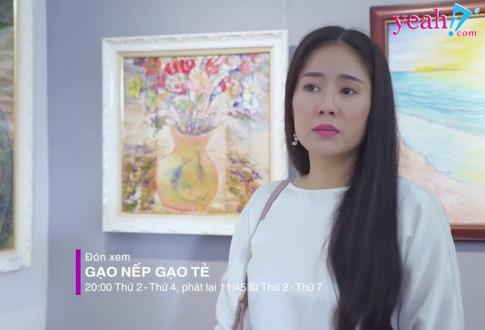 """Gao nep gao te: Doi mat ac nu giat chong, Huong """"ban than"""" phat hien su that khong ngo ve Cong"""