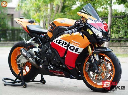 Honda CBR1000RR Repsol do chat den ngat trong tung chi tiet