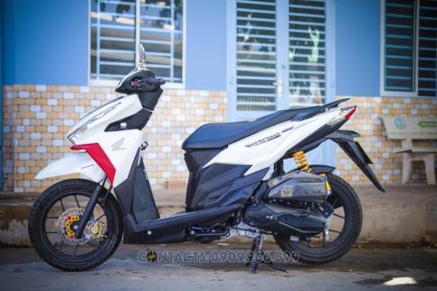 Honda Vario 150 day chat choi voi ban do tu biker mien Tay