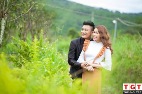 "Hot girl Lam Anh lam ban gai Bach Cong Khanh trong ""Vali Tinh Yeu"""