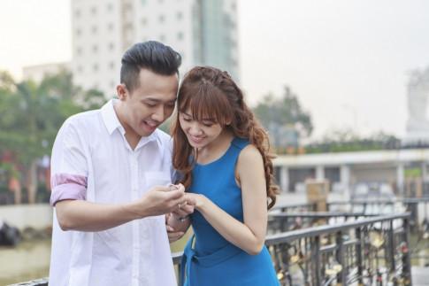 Tran Thanh lan dau tien song ca va dong vai chinh trong MV moi cua Hari Won