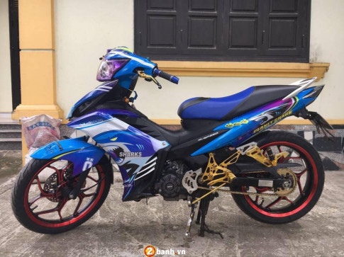 Yamaha Exciter 135 ban do ca map len bo day manh me