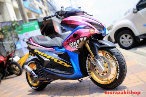 Yamaha NVX vua cá mập hồng đầy quyến rũ và chất chơi