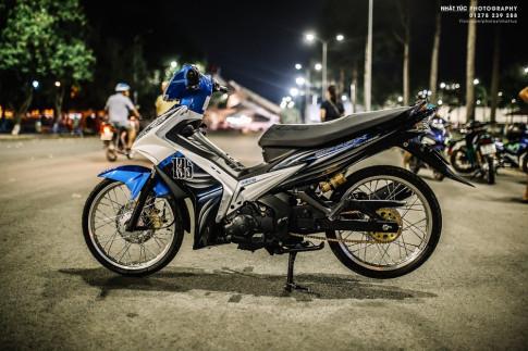 Yamaha Spark 135i dep leng keng xuyen man dem lanh lung