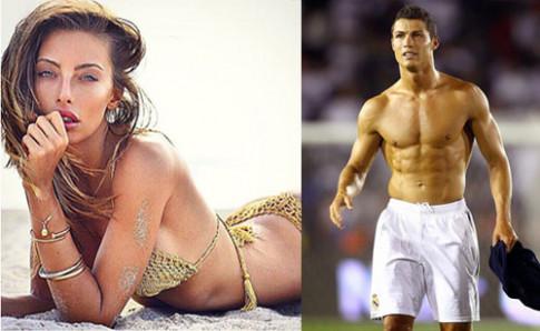 Bong mat ngam than hinh nguoi tinh tin don moi cua Ronaldo