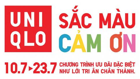 """Sac Mau Cam On"" - loi tri an dac biet tu Uniqlo thang 7 nay"