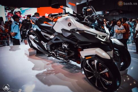 Chi tiết Honda Neowing mẫu mô tô 3 bánh Concept không tưởng tại Việt Nam