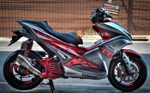 Đầy cuốn hút với Yamaha Aerox 155 của dân chơi Thái