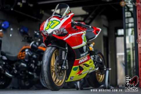 Ducati 899 Panigale cuon hut hon trong mot dien mao hoan toan moi
