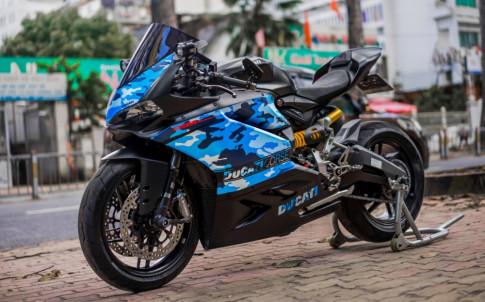 Ducati 959 Panigale gay an tuong trong bo canh ran ri noi bat