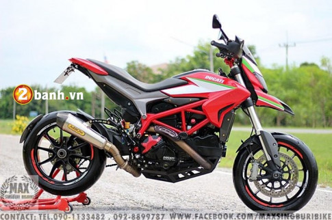 Ducati Hypermotard 821 Chiến binh xa lộ