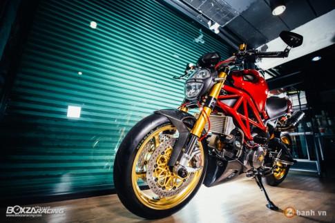 Ducati Monster 795 trong ban do khong the nao chat hon