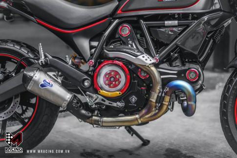 Ducati Scrambler đẹp tinh tế từ nguyên liệu Titanium