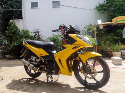 Exciter 2008 bien hinh an tuong voi bo ao huyen thoai X1R