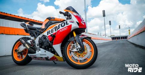 Honda CBR1000RR đẹp đến ngỡ ngàng trong phong cách 93 MotoGP