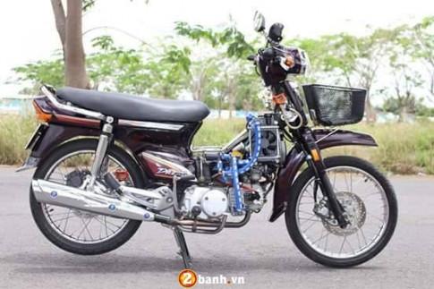 Honda Dream ' cu gia ' mang phong cach thoi dai