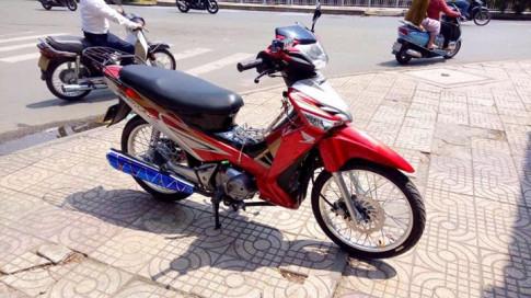 Honda Future 125 Fi kieng nhe nhang tao an tuong manh
