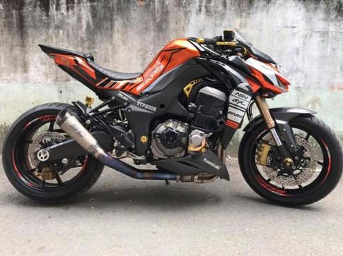Kawasaki Z1000 do gan full option DMV day chat choi