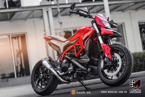 Ong hoang duong pho Ducati Hypermotard 939 dep rang ngoi cua dan choi Viet