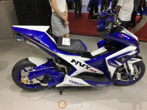 Phan tich chi tiet chiec NVX 155 do chinh hang Yamaha