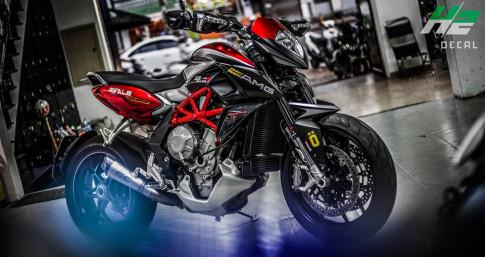 Sieu xe toi tu Y - MV Agusta Rivale 800 phong cach AMG