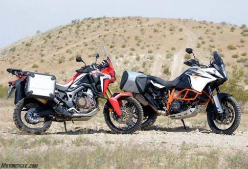 So sanh KTM 1090 Adventure R vs Honda CRF1000L Africa Twin