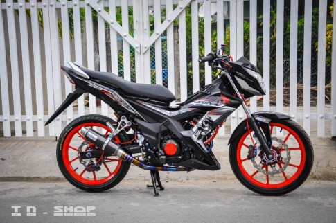 Sonic 150 ban do dinh cao dam chat choi cua biker Viet