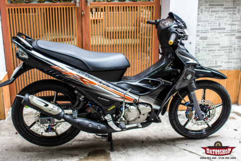 Su nang cap day thuong hang cua Yamaha Z125 do