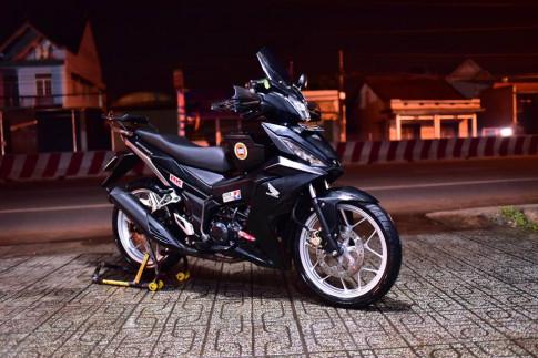 Winner 150 mang phong cach Touring cua biker Binh Duong