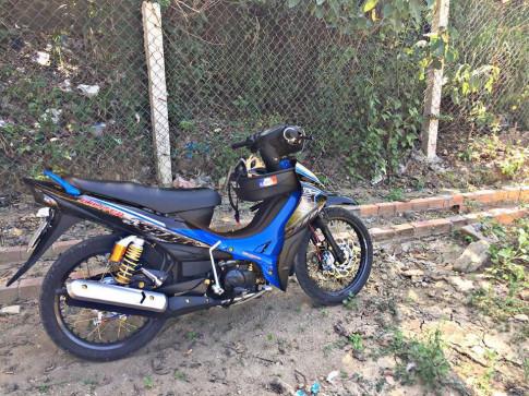 Yamaha Jupiter don nhe cuc an tuong cua dan choi Nha Trang
