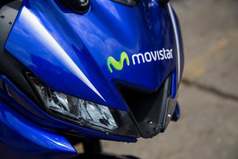 Yamaha R15 2017 phien ban Movistar ve VN voi gia ban hon 110 trieu dong