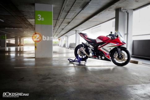 Yamaha R15 cuc chat trong ban nang cap day dang gia