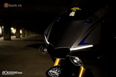 Yamaha R1M sieu pham duoc nang cap hieu nang voi loat option ' khung bo '