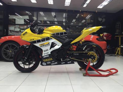 Yamaha R3 sieu dau voi bo ao 60 nam Yamaha