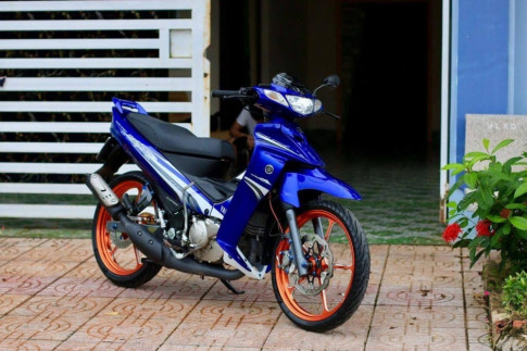 Yamaha Z125 voi dan chan day an tuong va chat choi